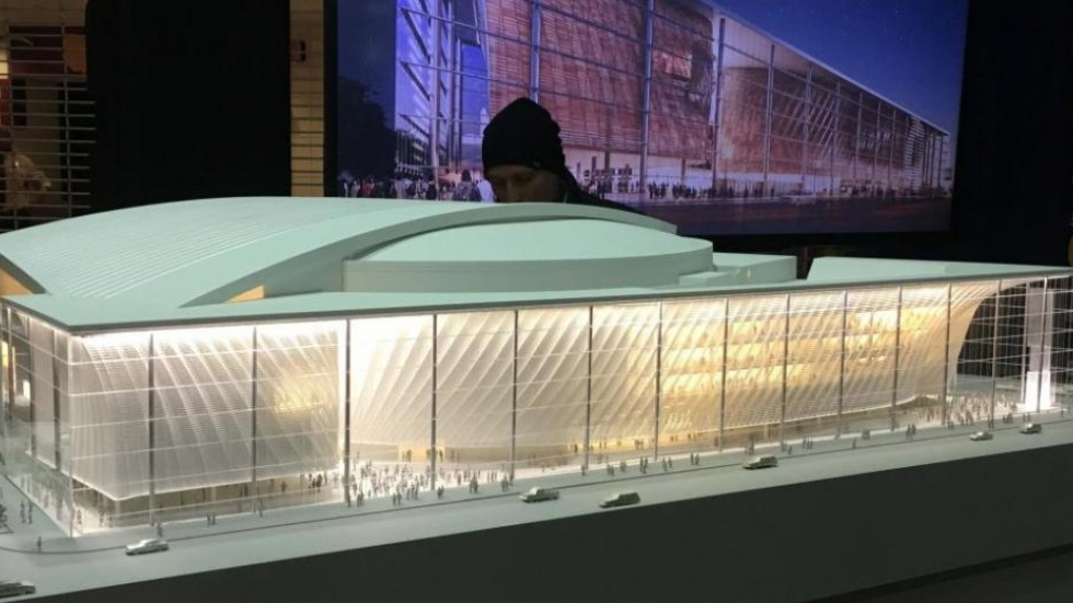 Model of renovated Quicken Loans Arena