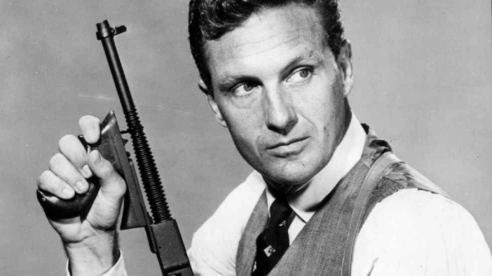 Image result for robert stack as eliot ness