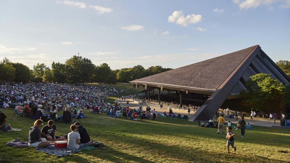 Blossom Music Center.  Photo by Roger Mastroianni