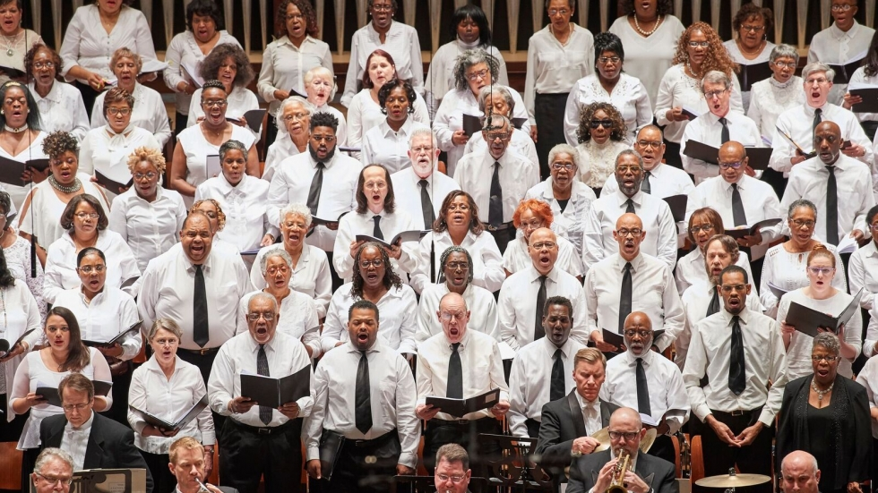 Martin Luther King, Jr. Celebration Chorus © Roger Mastroianni, Courtesy of The Cleveland Orchestra