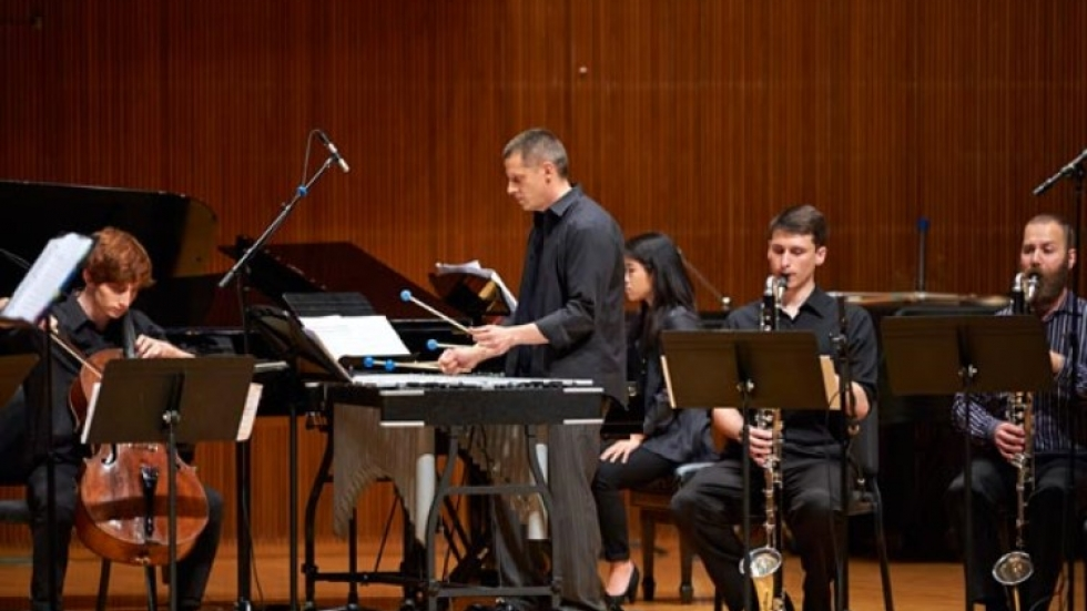 Oberlin Contemporary Music Ensemble. Photo courtesy of Oberlin.