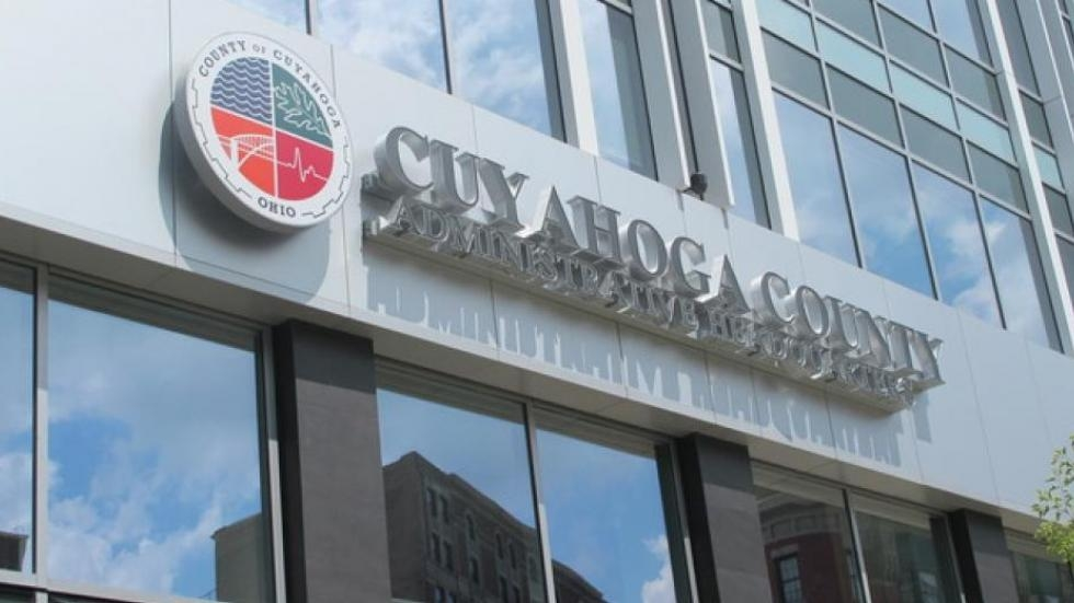 Cuyahoga County headquarters in downtown Cleveland.