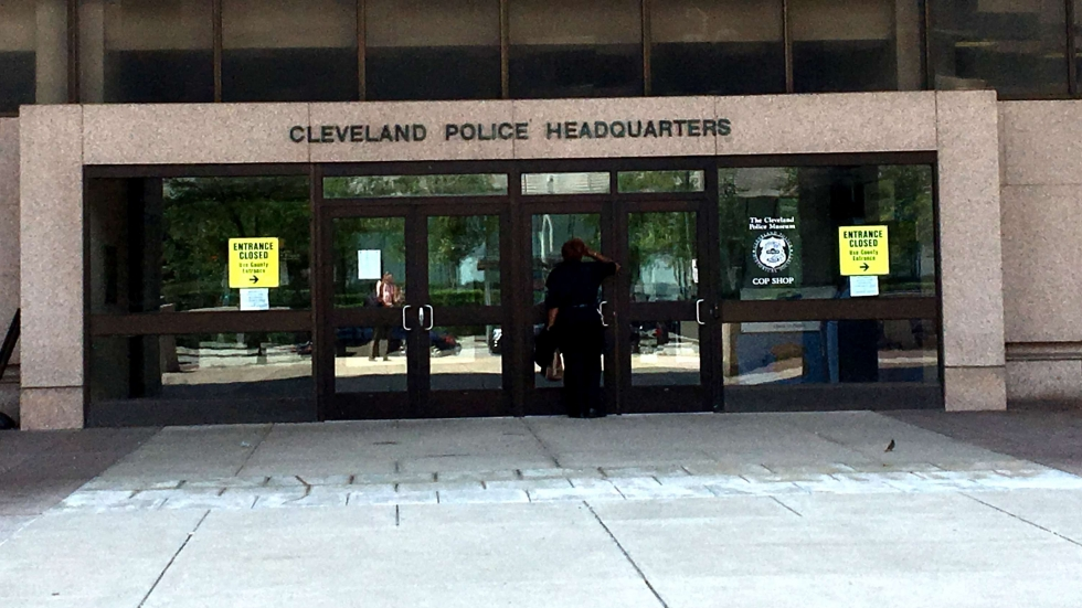 photo of Cleveland police headquarters