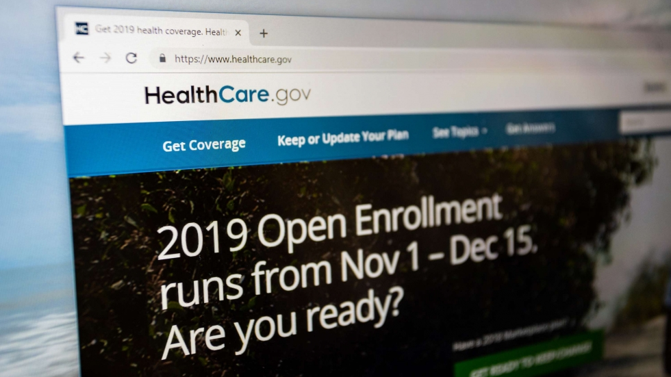Healthcare.gov website home page [Ricky Kresslein / Shutterstock]