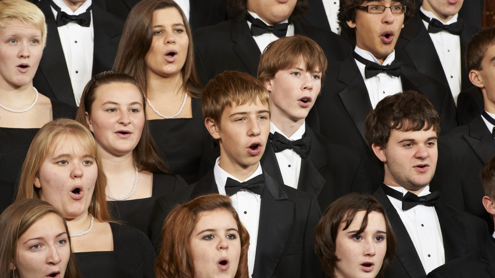 Members of the Cleveland Orchestra Youth Chorus