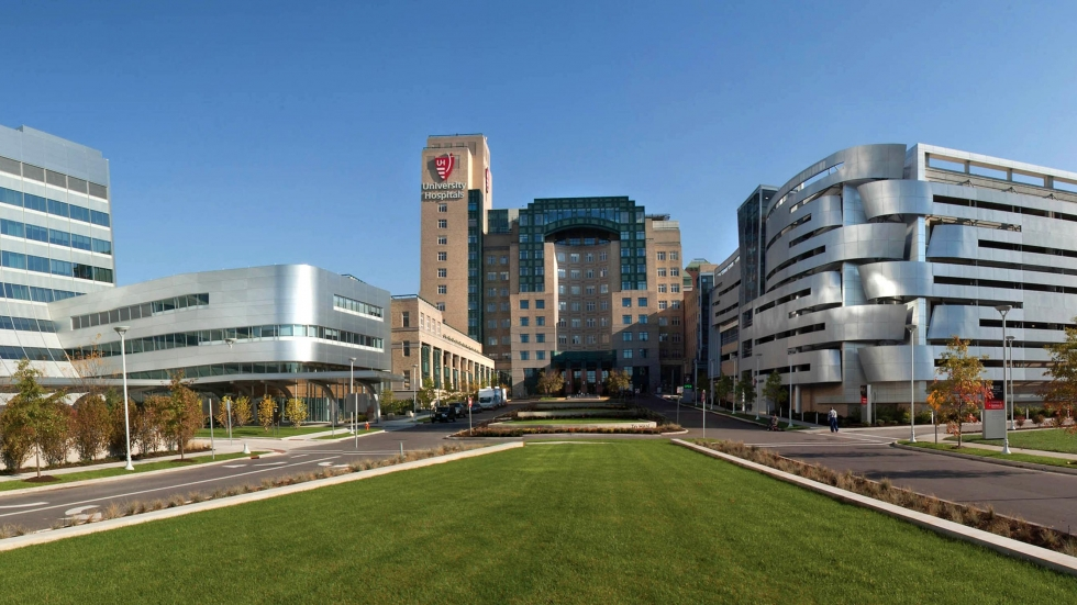 University Hospitals Main Campus in Cleveland