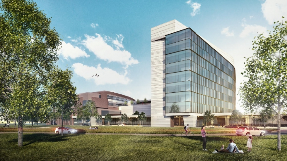 MetroHealth unveiled its new hospital design at its annual stakeholders meeting Friday. (Photo: MetroHealth)