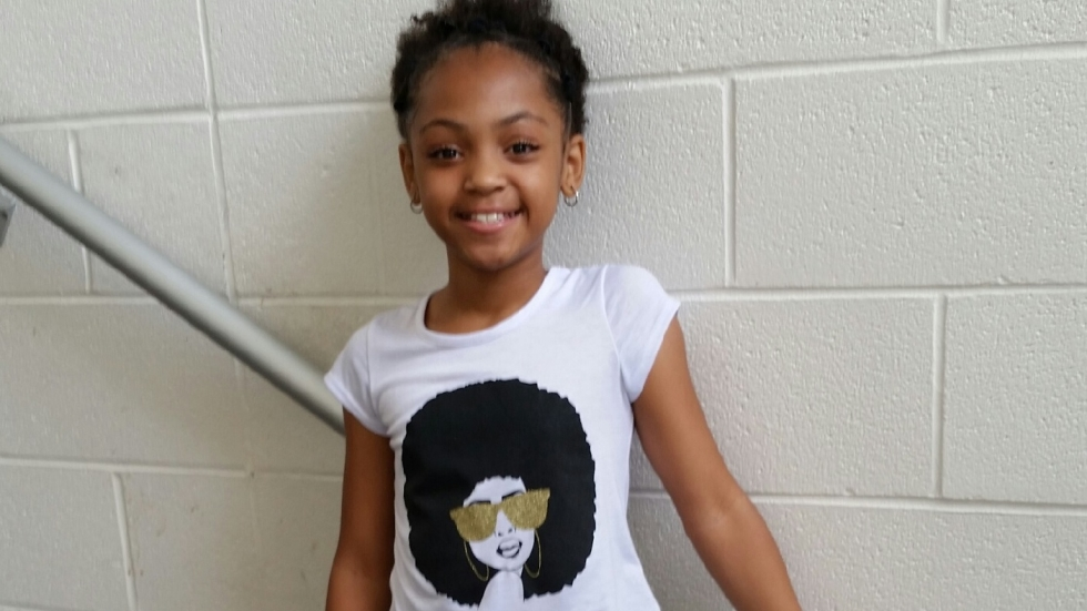 Nine-year-old Saniyah Nicholson was caught in crossfire and killed by stray bullet June 20