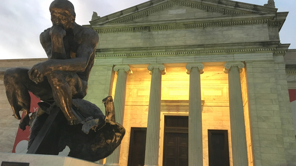 The Cleveland Museum of Art is pondering ways to embrace a wider audience by being more equitable and inclusive (David C. Barnett / ideastream)