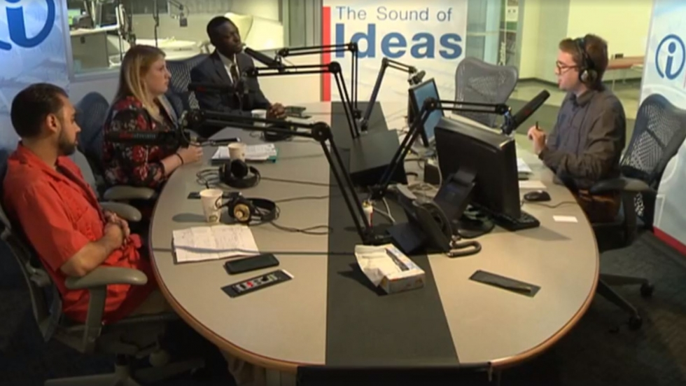 Republican panelists discuss young voters' issues in the Sound of Ideas studio.