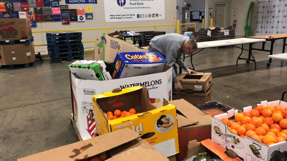 The Greater Cleveland Food Bank is gearing up with extra food for SNAP recipients and others affected by the government shutdown.