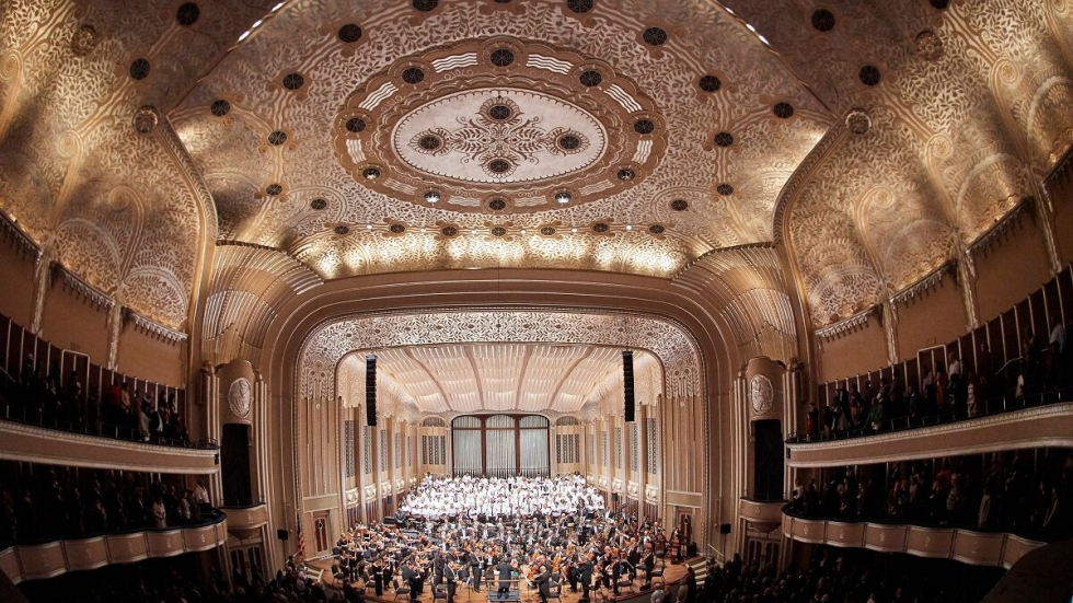 Severance Hall MLK Concert, photo © Roger Mastroianni, courtesy of The Cleveland Orchestra