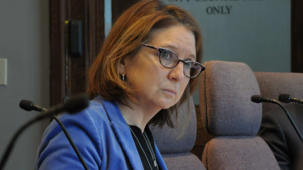 Cleveland Director of Public Health Merle Gordon and the city face criticism during a Jan. 28, 2019, meeting over inaction in dealing with the city's lead crisis.