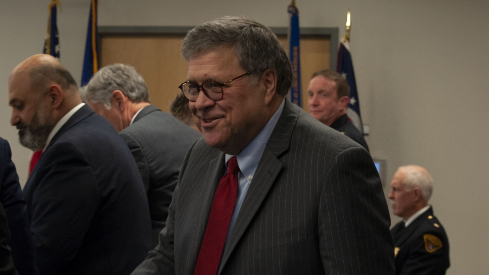 photo of US Attorney General William Barr