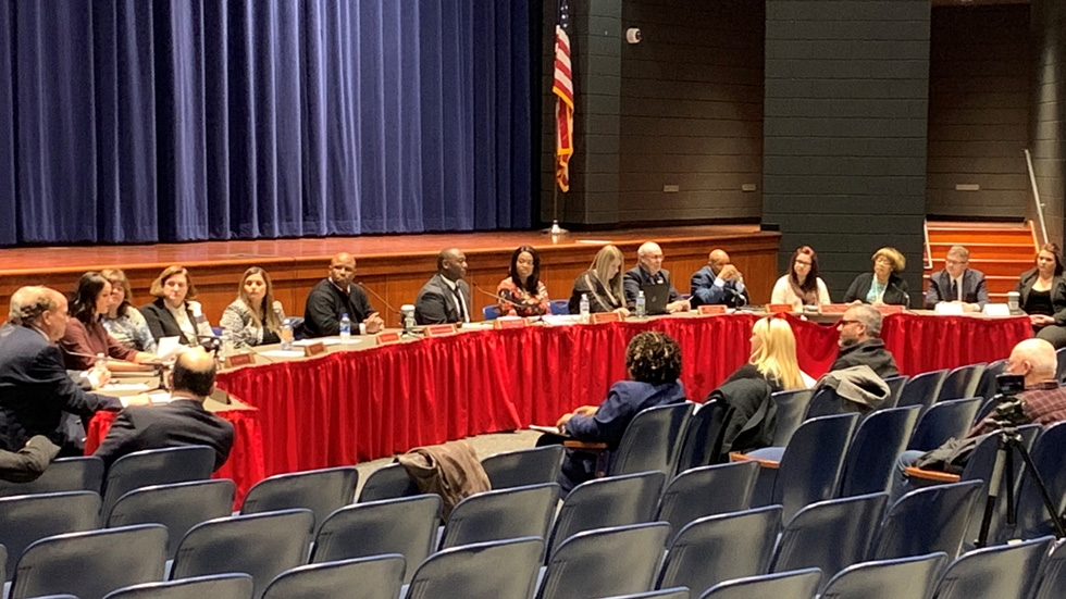 Lorain City School District officials welcomed Greg Ring to the table after announcing his appointment as interim CEO Wednesday, Dec. 11.