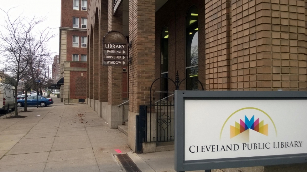 The exterior of Cleveland Public Library's Martin Luther King, Jr. branch