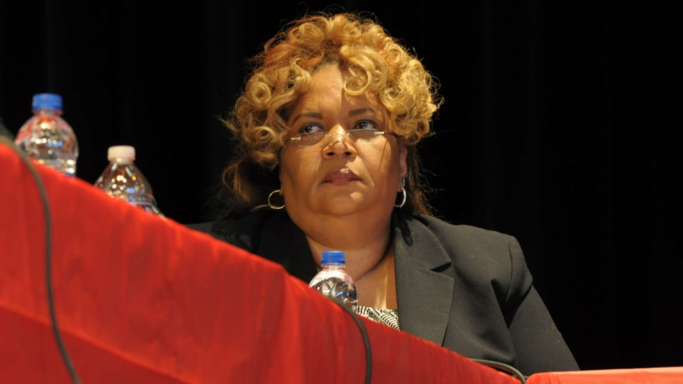 East Cleveland schools superintendent Myrna Loy Corley