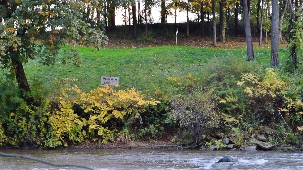 Brandywine Country Club on the edge of the Cuyahoga River in October 2018.