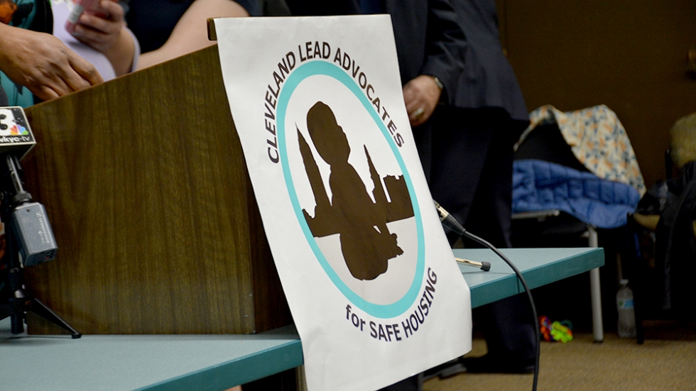 Cleveland Lead Advocates for Safe Housing launched its campaign for the lead-safe ordinance earlier this year.