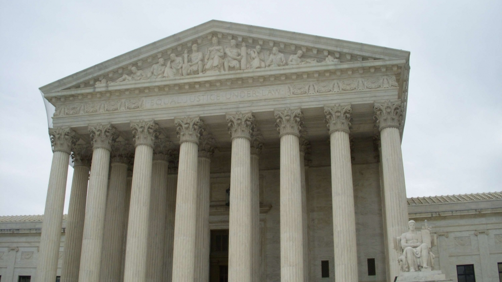 Exterior photo of the U.S. Supreme Court