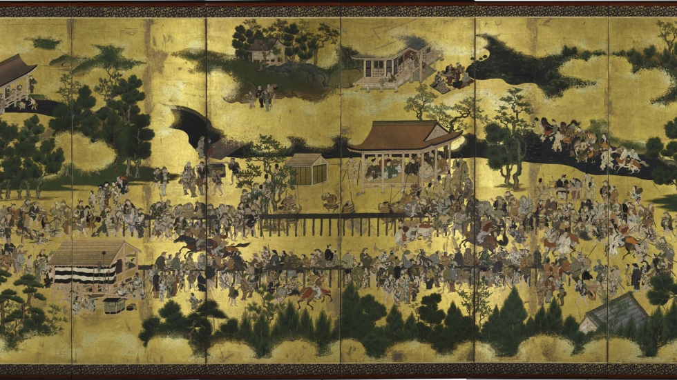 Horse Races at Kamo, c. 1634–44. Edo period (1615–1868).  The Cleveland Museum of Art, Purchase from the J. H. Wade Fund