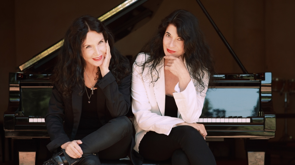The Labèque Sisters (photo from labeque.com)