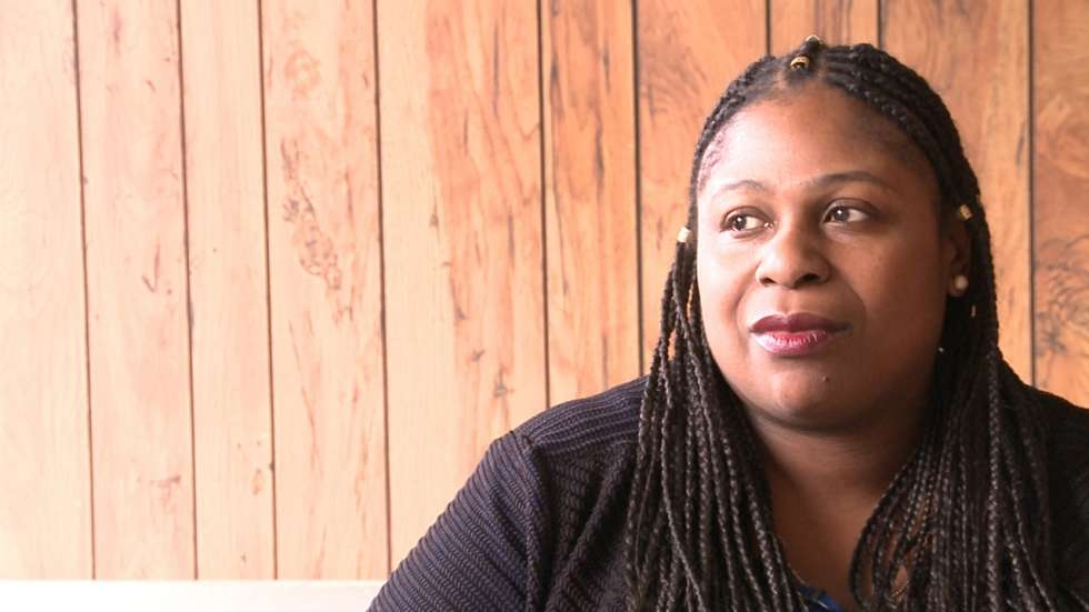 Samaria Rice, the mother of Tamir Rice in March 2018. Tamir was 12 years old when he was shot and killed by police in 2014.