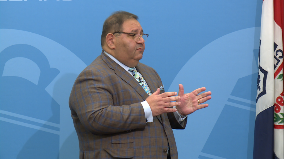 MetroHealth CEO Dr. Akram Boutros at City Club of Cleveland Friday, June 7, 2019.