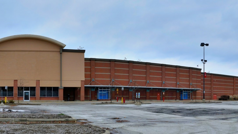 The former Walmart at Severance Mall