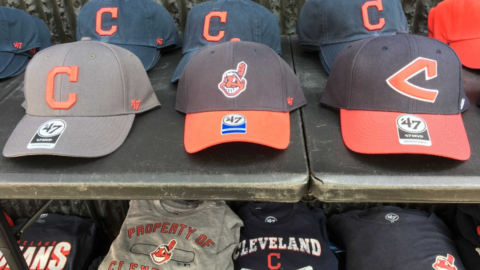 Chief Wahoo is the top seller at Chase Singleton's stand near Progressive Field [David C. Barnett / ideastream]