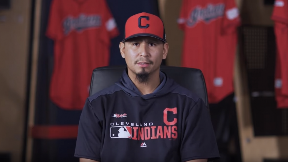 Indians pitcher Carlos Carrasco discussed his chronic myeloid leukemia (CML) diagnosis in a web video.