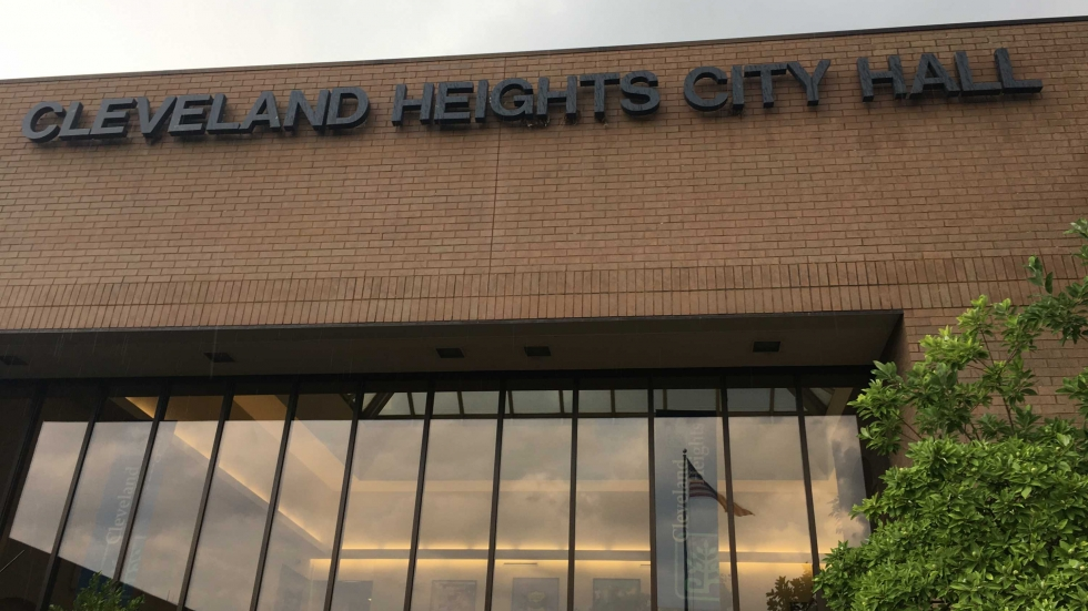 Exterior of Cleveland Heights City Hall