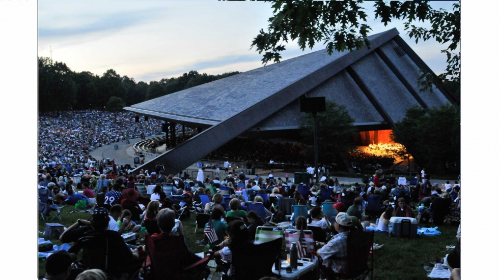 Blossom Music Center, National Park Service Photo