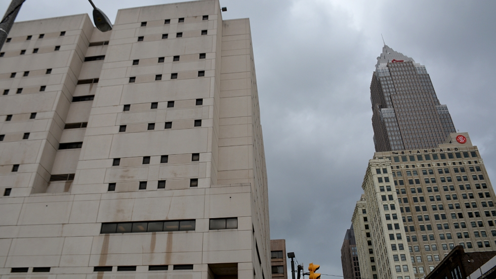Cuyahoga County Jail in Cleveland, Ohio