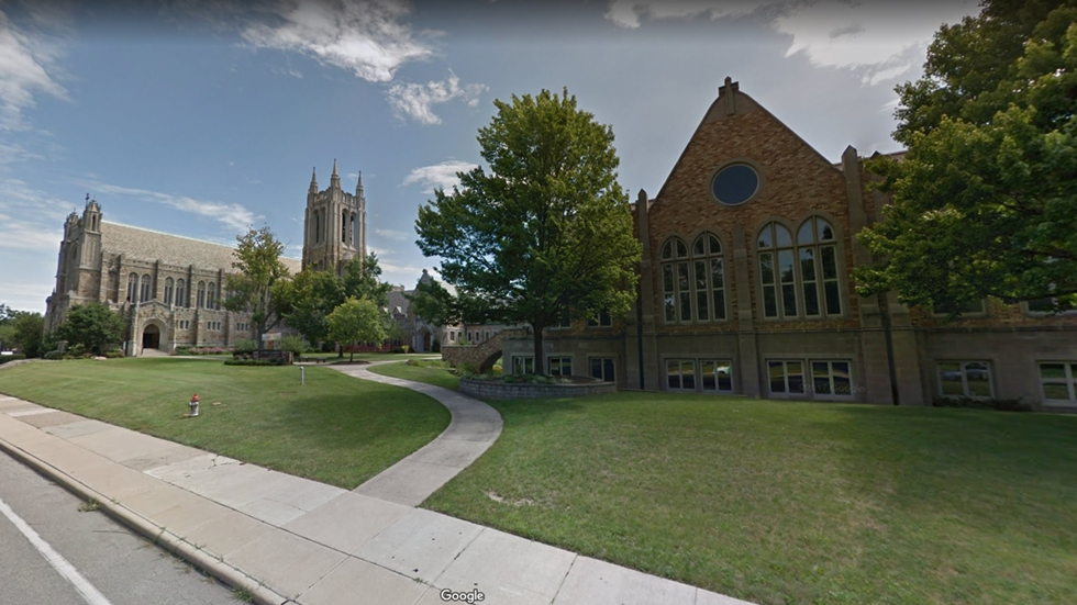 Church of the Saviour United Methodist in Cleveland Heights.