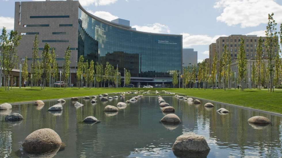 The Cleveland Clinic campus in Cleveland