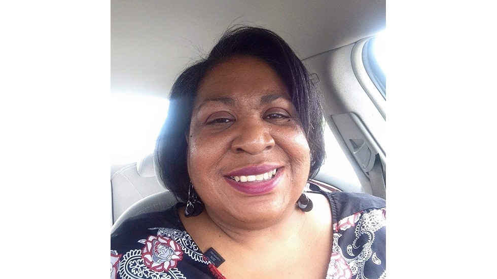 Carmen Bailey, 52, is recovering from COVID-19 in Cleveland, Ohio.