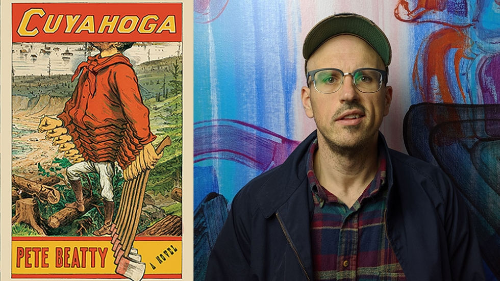 """""""Cuyahoga"""" is Pete Beatty's debut novel."""