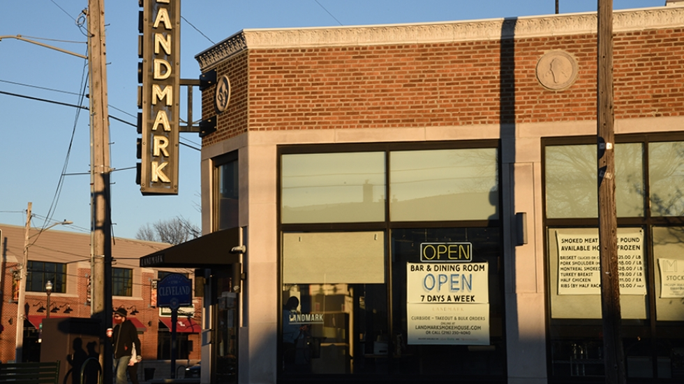 Landmark Smokehouse in Cleveland at Clifton Boulevard and West 177th Street