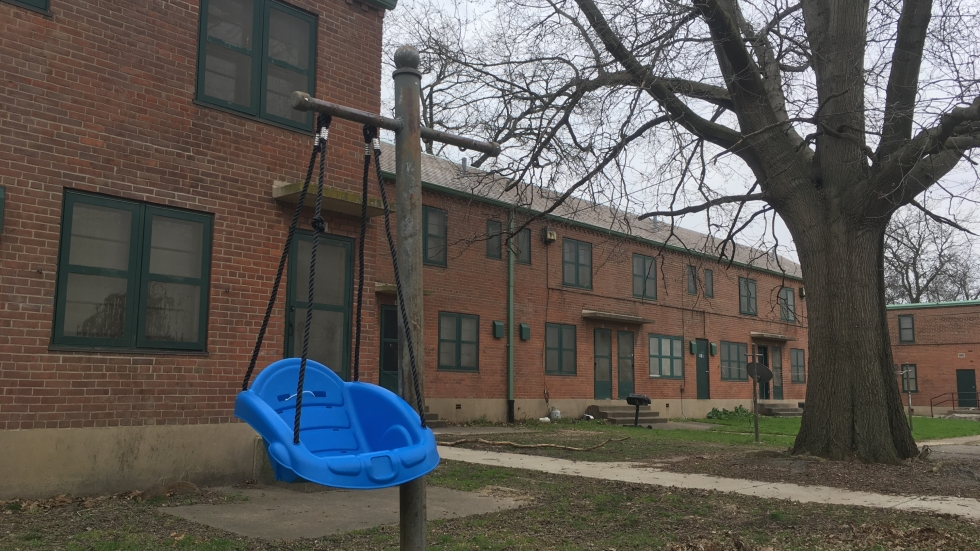 Existing buildings at Woodhill Homes may be almost entirely torn down in a five-phase redevelopment.