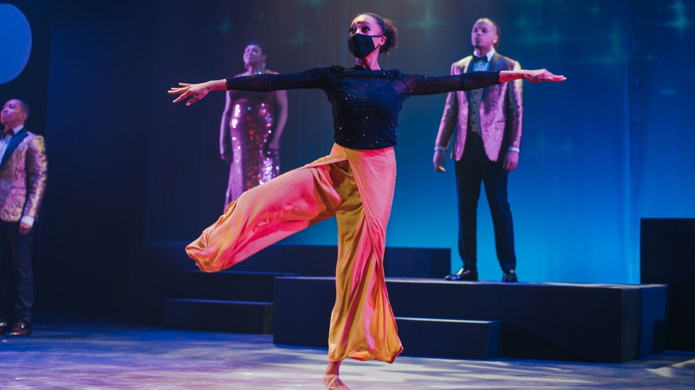 "Dancer Lexi Lattimore performs in the online production of ""Joyful."" [Karamu House]"