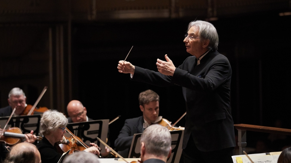 Michael Tilson Thomas conducts The Cleveland Orchestra in 2018