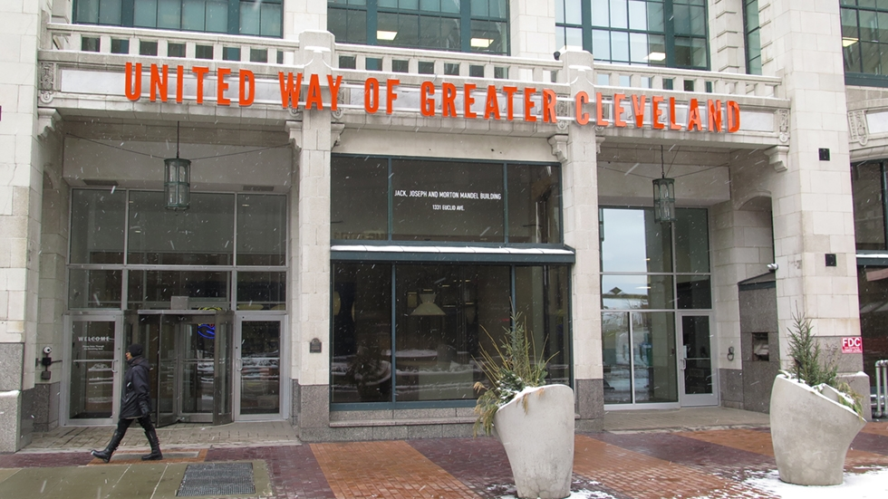 United Way of Greater Cleveland offices on Euclid Avenue in Playhouse Square