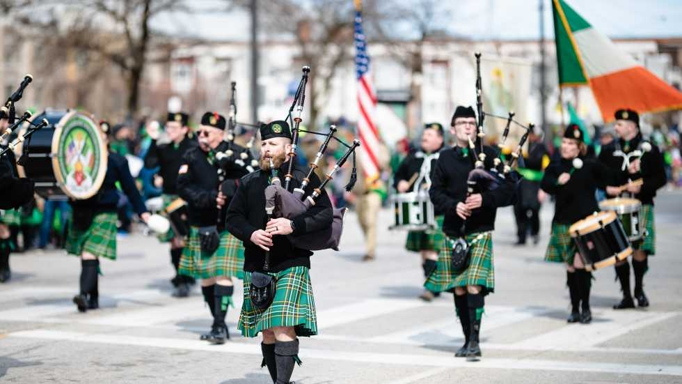 The 2019 St. Patrick's Day Parade in Cleveland.