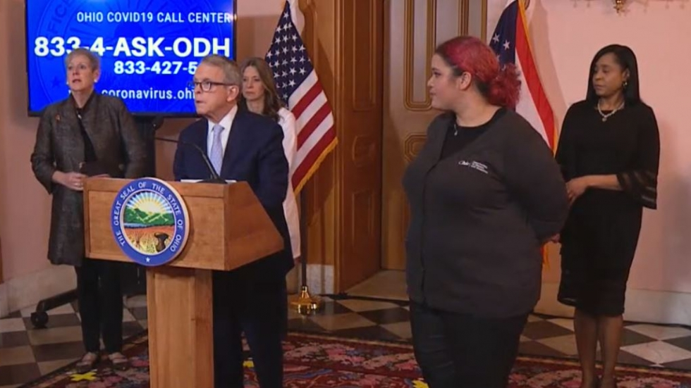 Ohio officials briefed the public Thursday afternoon on efforts to stop the spread of COVID-19 as the number of confirmed cases grew to 119.