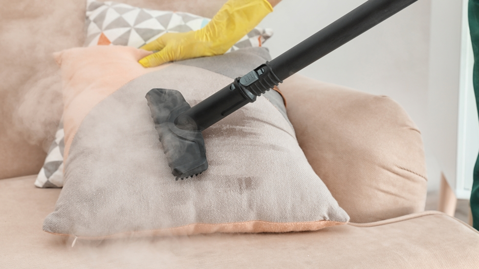 Steam could help clean COVID-19, if it's hot enough. [New Africa / Shutterstock]