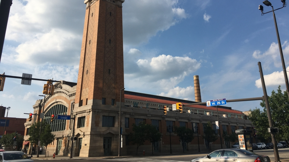 West Side Market in Cleveland's Ohio City neighborhood