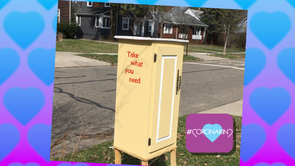 Little Free Pantry in Cleveland Heights