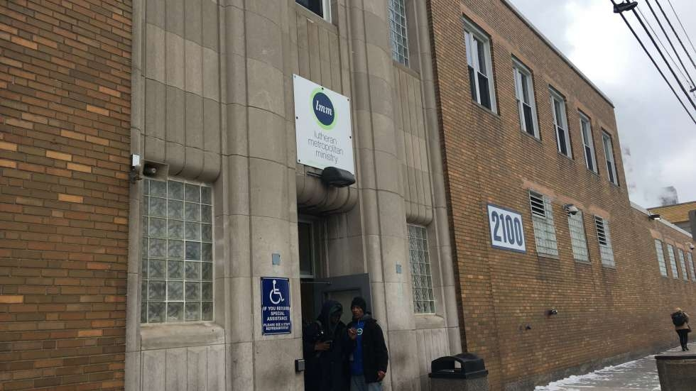 Lutheran Metropolitan Ministry operates the men's shelter in downtown Cleveland.