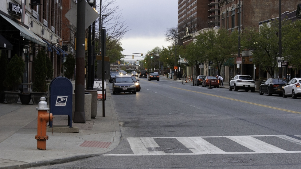 photo of W. 25th Street in Cleveland